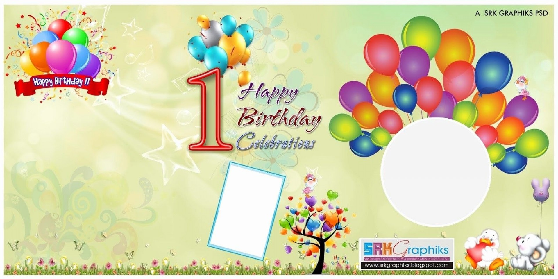 004 Frightening Birthday Card Template Photoshop Sample  Greeting Format 4x6 Free1920