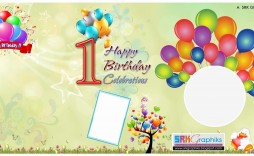 004 Frightening Birthday Card Template Photoshop Sample  Greeting Format 4x6 Free