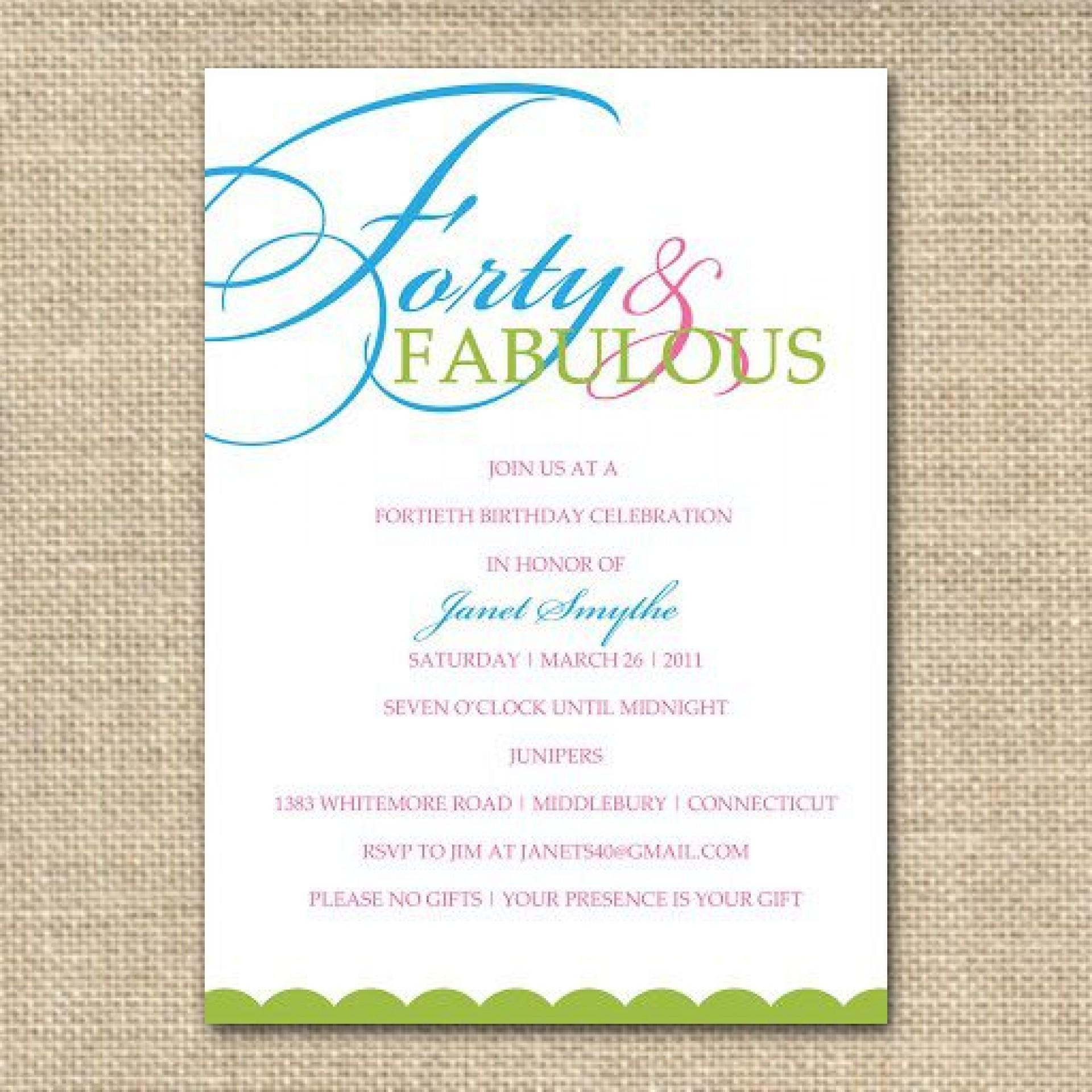 004 Frightening Birthday Invitation Wording Example Highest Clarity  Examples Party Invite Brunch Idea1920