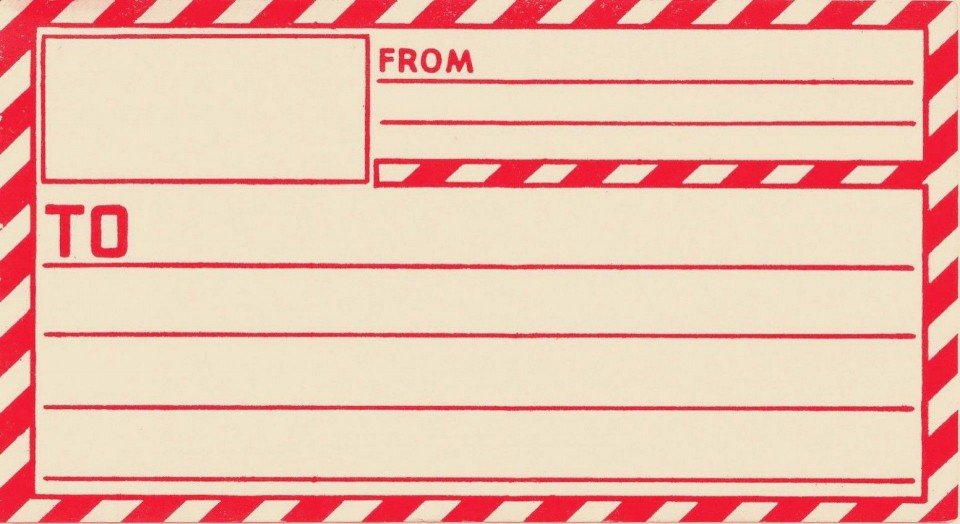 004 Frightening Free Online Shipping Label Template Picture 960