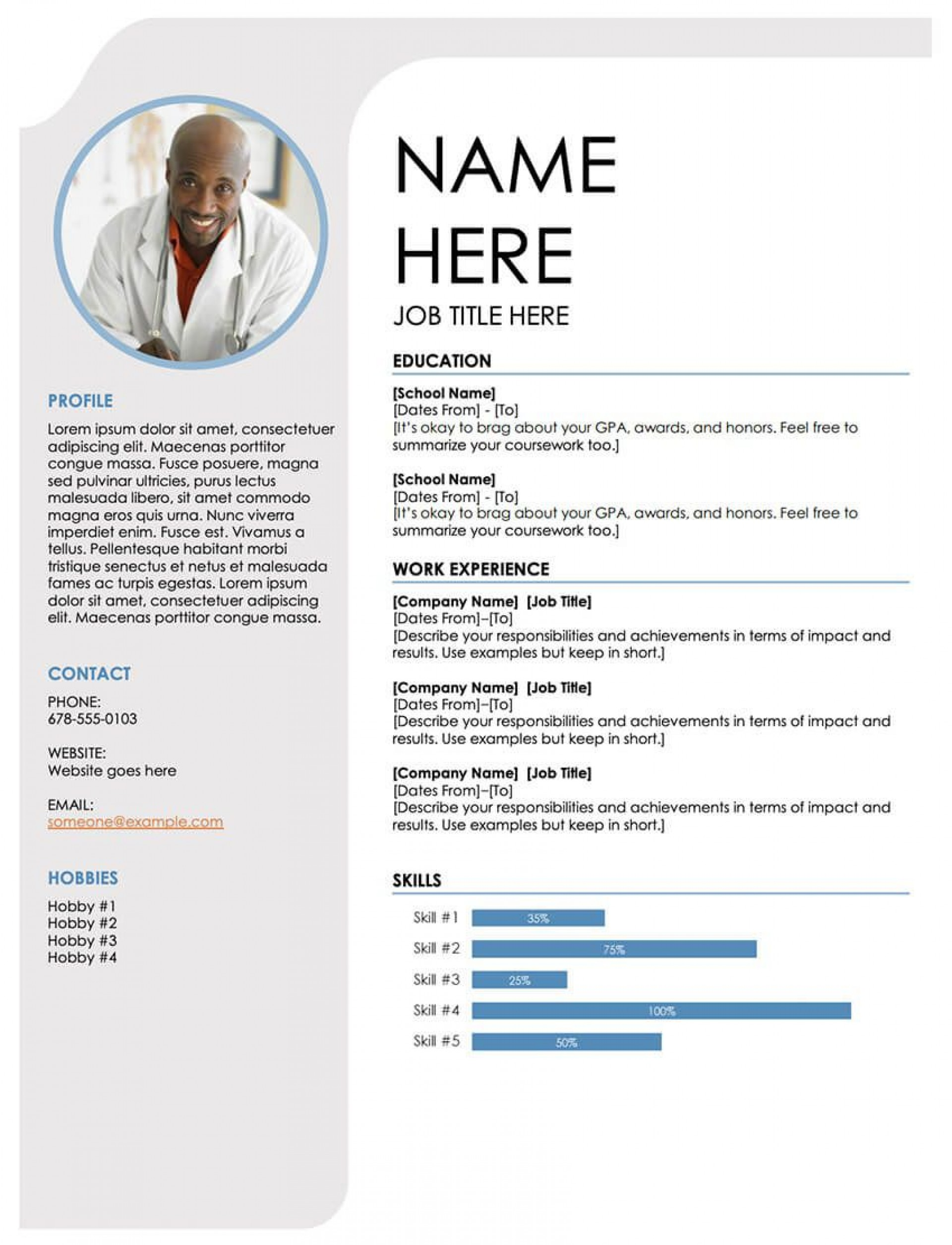 004 Frightening Free Professional Resume Template Microsoft Word Concept  Cv 20101920