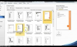 004 Frightening How To Create A Resume Template In Microsoft Word Highest Quality  Cv/resume Docx