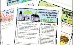 004 Frightening Newsletter Template For Teacher To Parent Picture  Parents