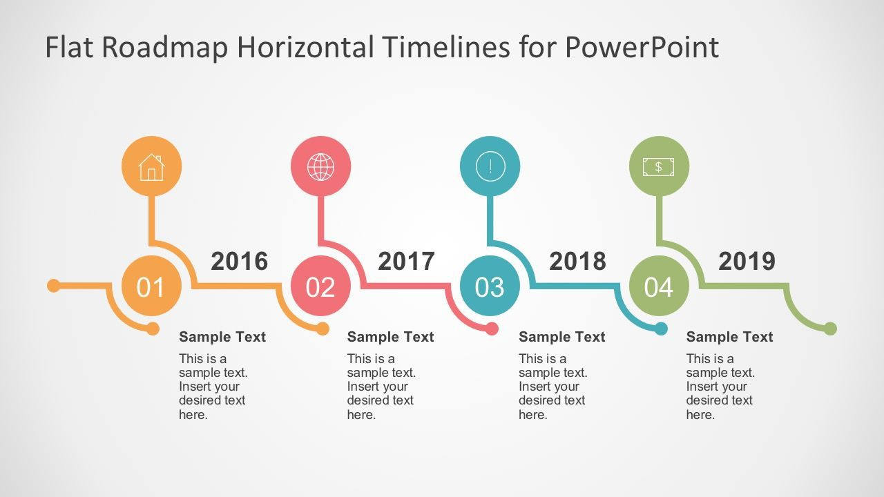 004 Frightening Timeline Graph Template For Powerpoint Presentation High Definition Full