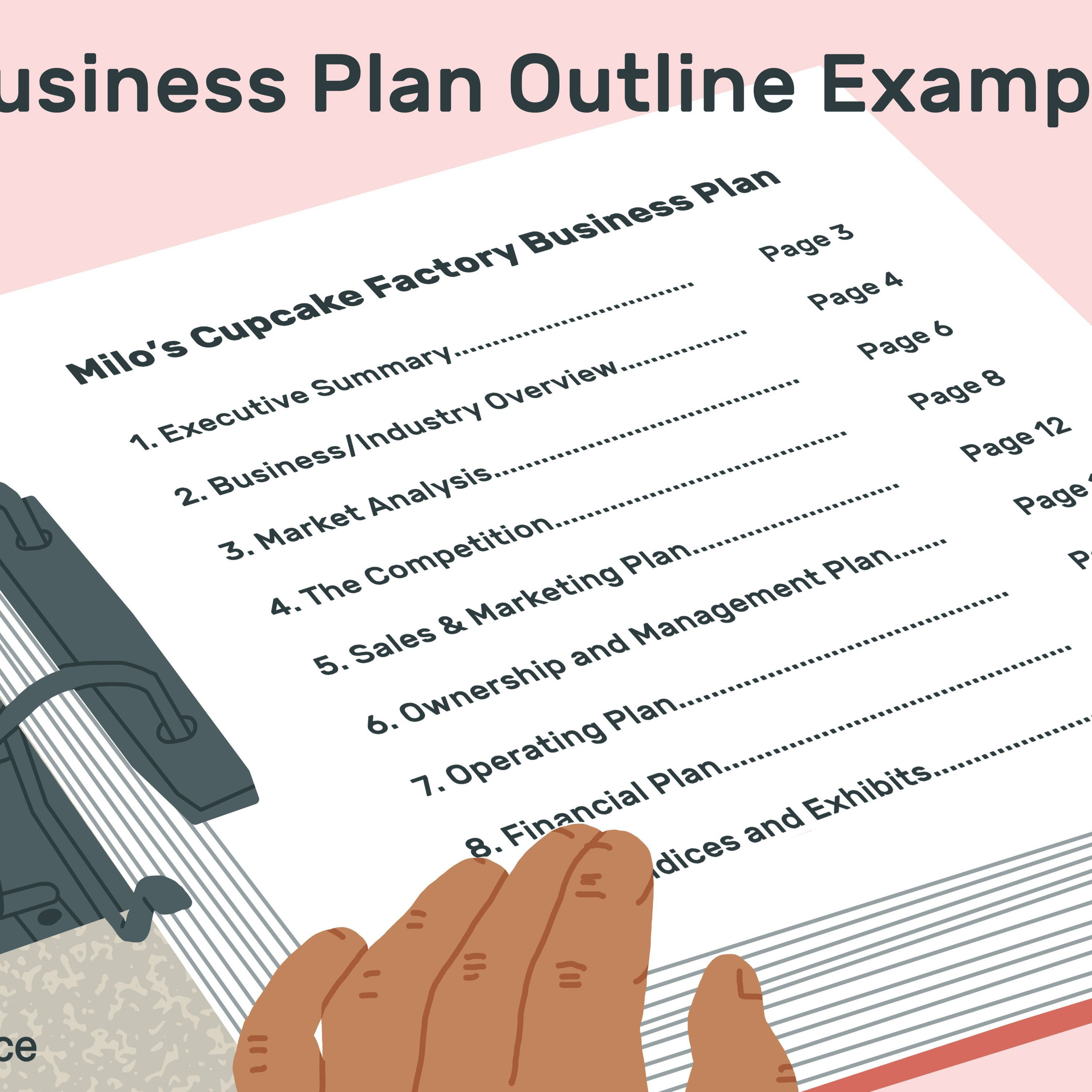 004 Imposing Busines Plan Format Word Doc High Definition  Template Free Download Example DocumentFull