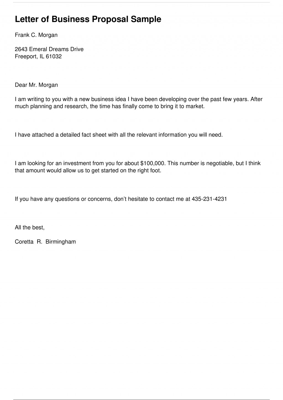 004 Imposing Busines Proposal Letter Template High Resolution  Free DownloadLarge