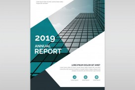 004 Imposing Free Download Annual Report Cover Design Template High Resolution  In Word Page