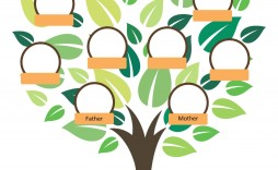 004 Imposing Free Editable Family Tree Template Photo  With Sibling Powerpoint For Mac