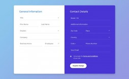 004 Imposing Free Html Form Template Idea  Templates Survey Application Download Registration