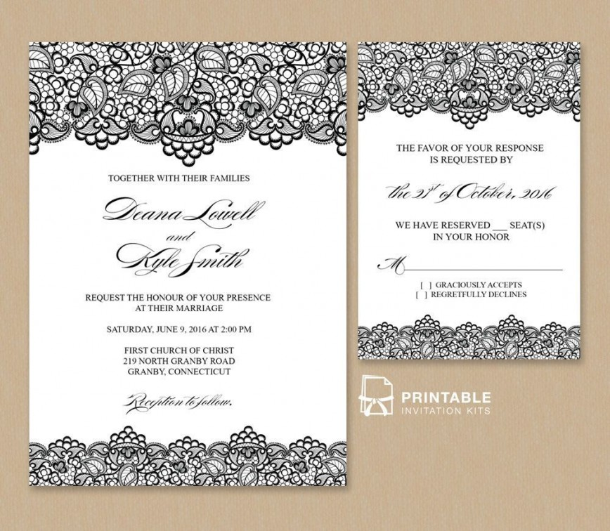 Free Online Wedding Invitation Template Download Addictionary