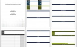 004 Imposing Free Project Proposal Template Example  Document Ppt Pdf