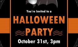 004 Imposing Halloween Invitation Template Microsoft Word Design  Birthday Free