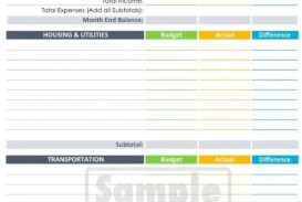 004 Imposing Line Item Budget Template Word High Definition