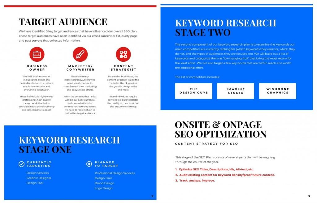 004 Imposing Social Media Plan Example Pdf Sample  Template MarketingLarge