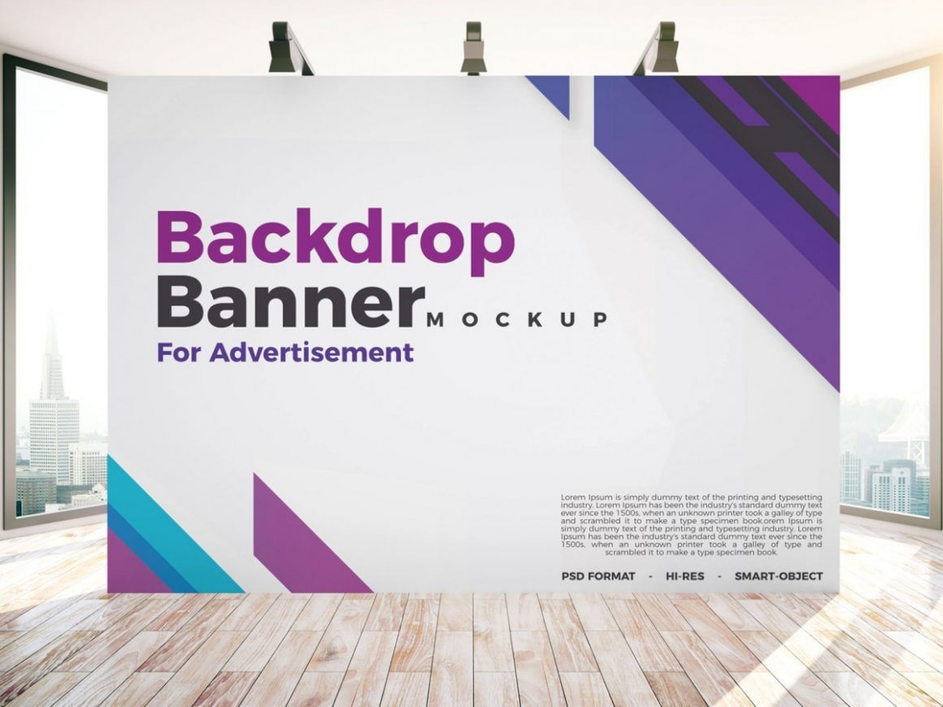 004 Imposing Step And Repeat Banner Template Psd Picture 1920