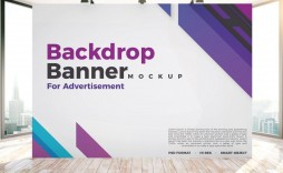 004 Imposing Step And Repeat Banner Template Psd Picture