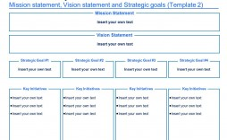004 Imposing Strategic Plan Template Free Concept  Sale Account