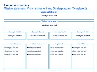 004 Imposing Strategic Plan Template Free Concept  Sale Account Excel320