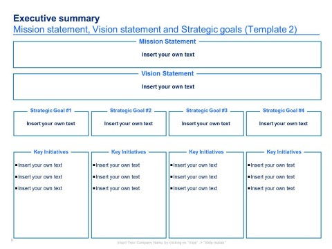 004 Imposing Strategic Plan Template Free Concept  Sale Account Excel480