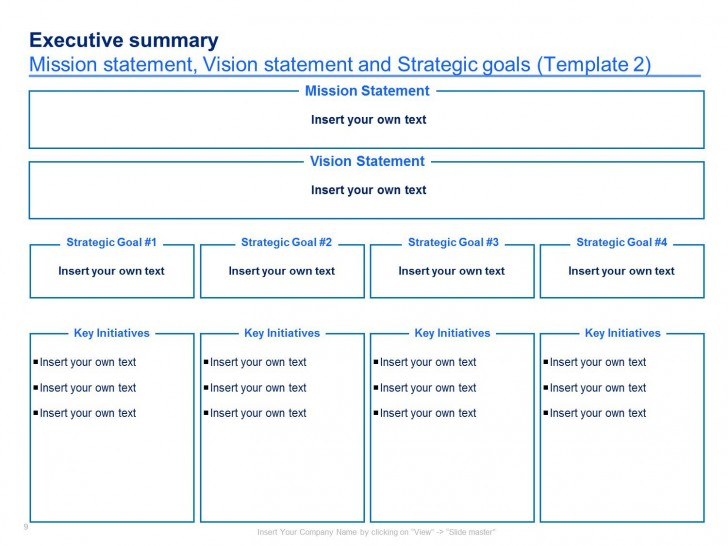 004 Imposing Strategic Plan Template Free Concept  Sale Account Excel728
