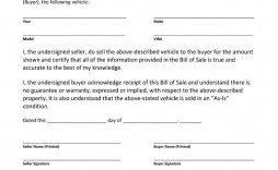 004 Imposing Template For Bill Of Sale High Resolution  Example Trailer Free Mobile Home Used Car