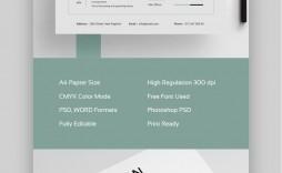 004 Impressive Adobe Photoshop Resume Template Free Design  Download
