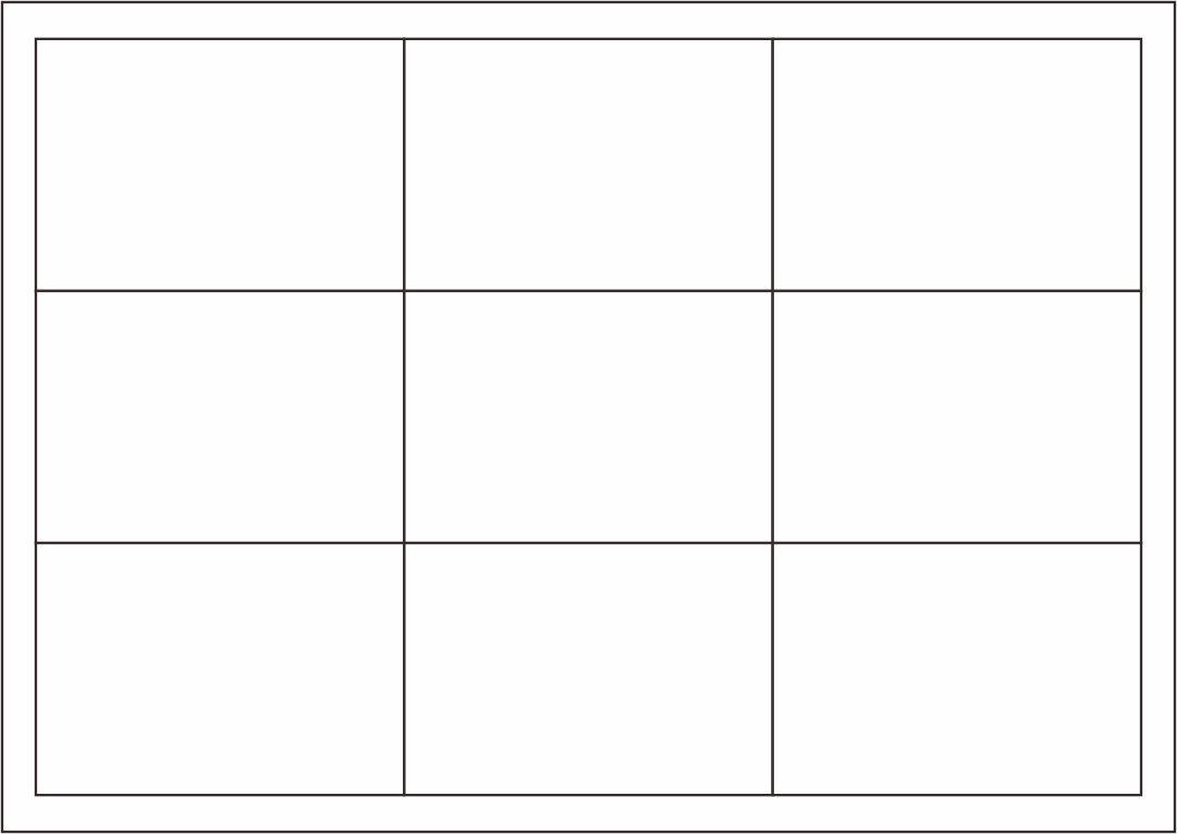 004 Impressive Blank Playing Card Template Word Idea Full