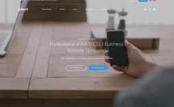 004 Impressive Busines Website Html Template Free Download Idea  With Cs Company