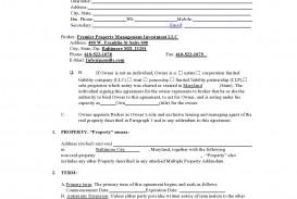 004 Impressive Commercial Property Management Agreement Template Uk Concept