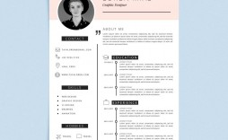 004 Impressive Creative Resume Template Freepik High Resolution