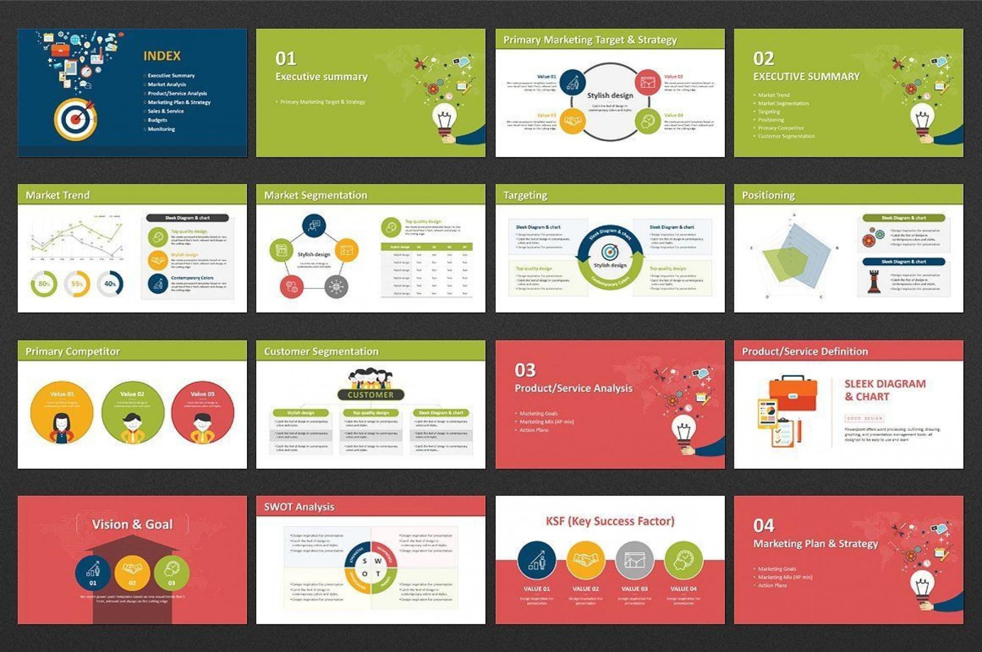 004 Impressive Digital Marketing Plan Template Ppt Inspiration  Presentation Free Slideshare1920