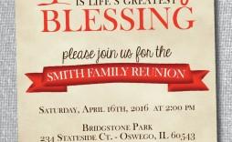 004 Impressive Family Reunion Flyer Template Free Sample  Downloadable Printable Invitation