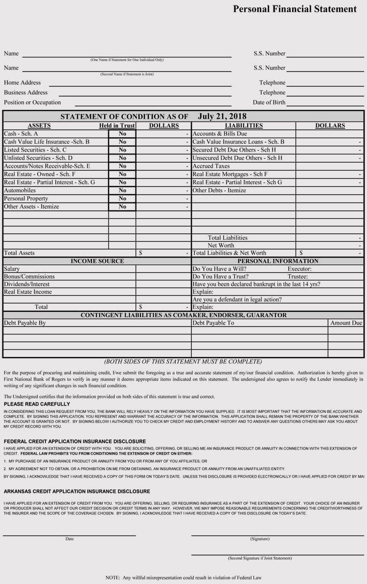 004 Impressive Financial Statement Template Excel High Resolution  Interim Example Format Free DownloadFull