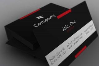 004 Impressive Free Adobe Photoshop Busines Card Template High Def  Download320