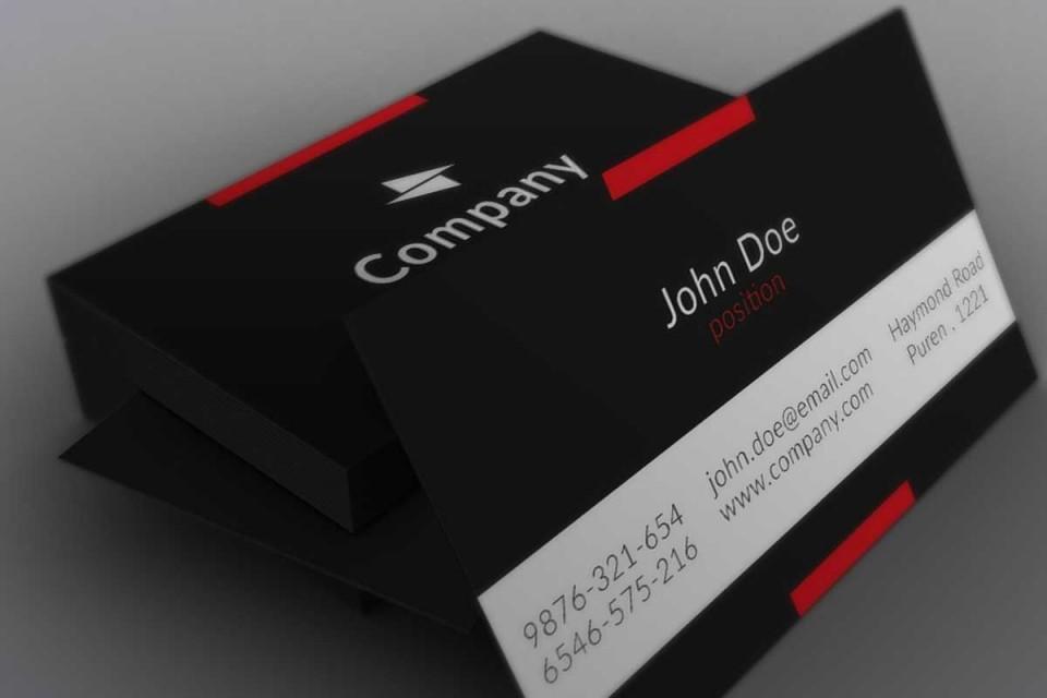 004 Impressive Free Adobe Photoshop Busines Card Template High Def  Download960