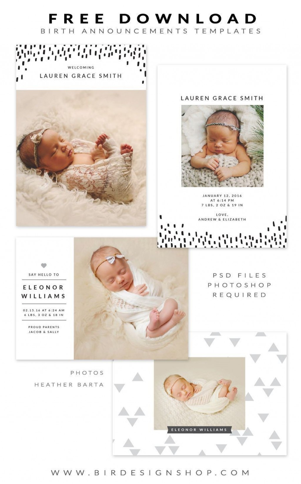 004 Impressive Free Baby Announcement Template Picture  Templates Boy Photoshop Printable Shower InviteLarge