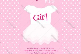 004 Impressive Free Baby Shower Invitation Template Image  Printable For A Girl Microsoft Word