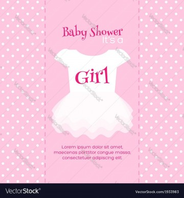 004 Impressive Free Baby Shower Invitation Template Image  Printable For A Girl Microsoft Word360