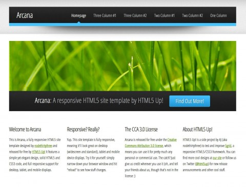 004 Impressive Free Dreamweaver Website Template Highest Quality  Adobe Cs6 Download Sample480