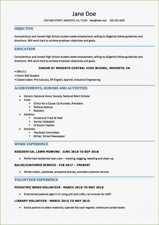 004 Impressive Free High School Resume Template Word Concept  StudentLarge
