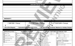 004 Impressive Free Hvac Preventive Maintenance Agreement Template Design