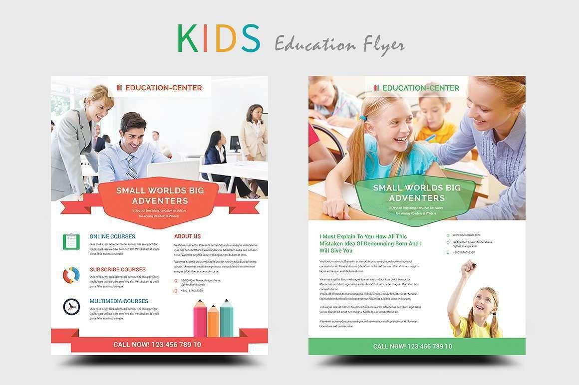 004 Impressive Free School Flyer Template Word Photo  For Microsoft Education Back ToFull