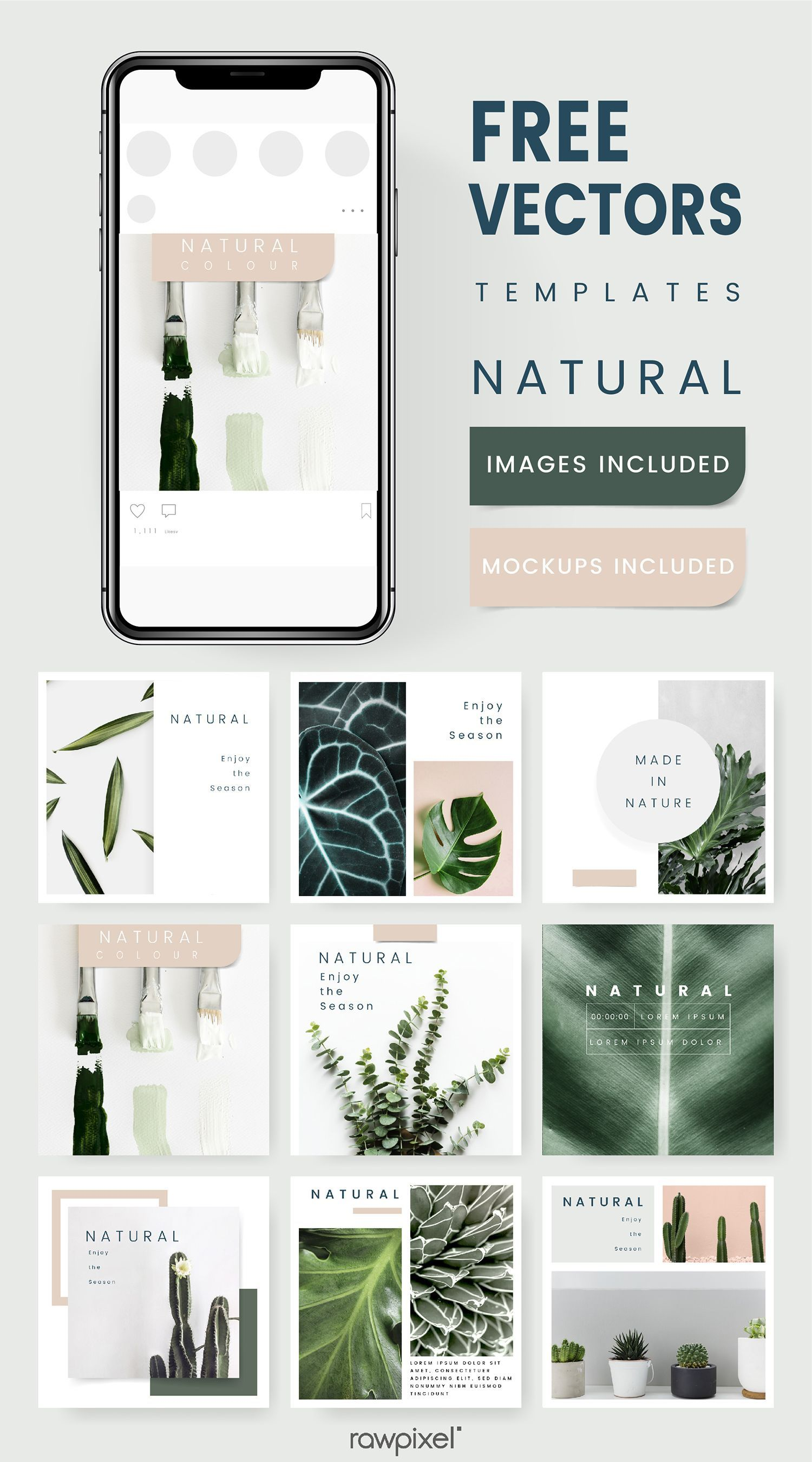 004 Impressive Free Social Media Template Inspiration  Templates Website Design Post Download For PowerpointFull