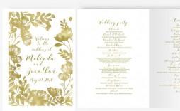 004 Impressive Free Word Template For Wedding Program Highest Quality  Programs