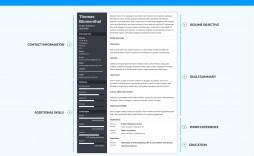 004 Impressive Functional Resume Template Free Example