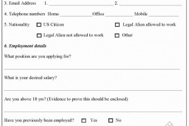 004 Impressive Generic Job Application Template Word Idea