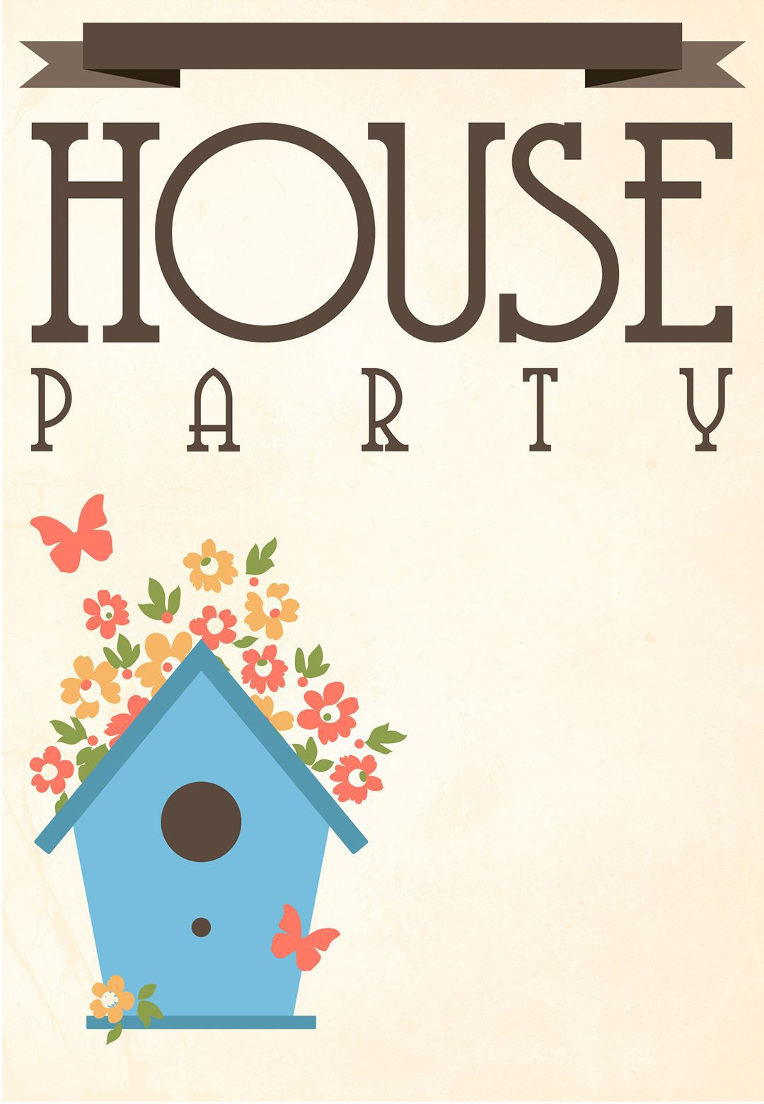 004 Impressive Housewarming Party Invitation Template Photo  Templates Free Download CardFull