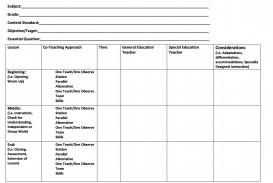 004 Impressive Lesson Plan Template For Preschool Picture  Format Teacher Free Printable