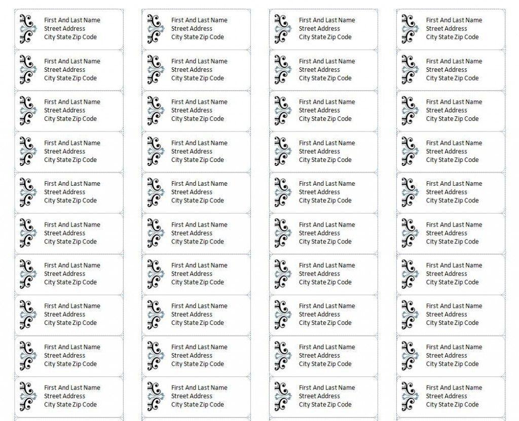 004 Impressive Microsoft Word Addres Label Template 30 Per Sheet Concept Large