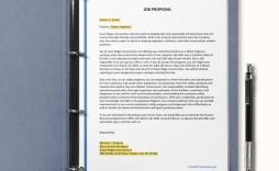004 Impressive Microsoft Word Job Proposal Template Concept